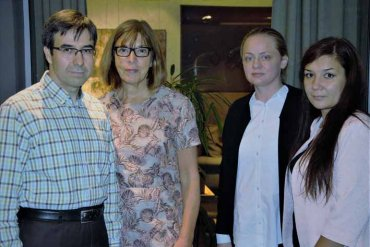Евродепутат Ребекка Хармс побеседовала с администрацией Международной школы «Меридиан»
