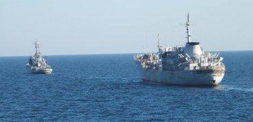 В России истерика из-за украинских кораблей возле Крыма
