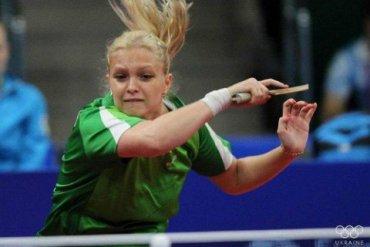 Украинка завоевала «серебро» чемпионата Европы по настольному теннису