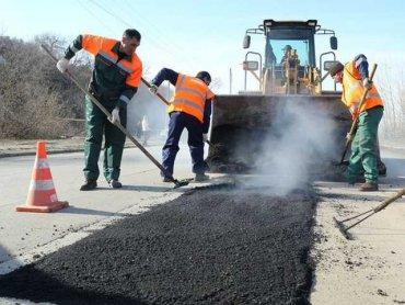 На ремонте дорог под Киевом строительные компании разворовывают бюджетные деньги