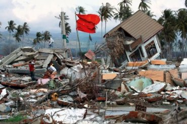В нескольких километрах от Фукусимы снова мощное землятресние