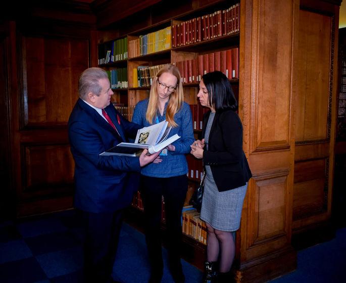 Поплавский представил свою книгу «Ректор» в Кембриджском университете