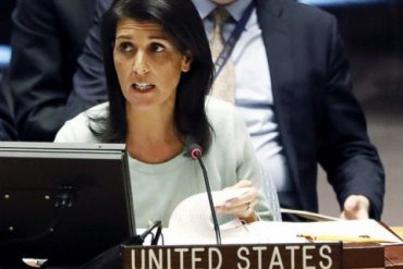 Посол США в ООН Никки Хейли подала в отставку