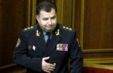 Министра обороны Украины уволили с военной службы