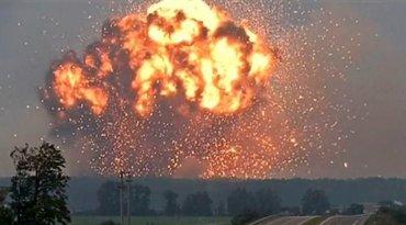 Взрывы на складах боеприпасов в Ичне назвали диверсией России