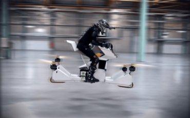 Дубайская полиция получила первый летающий мотоцикл