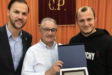 Украинец Зозуля получил в Испании приз лучшему игроку сезона