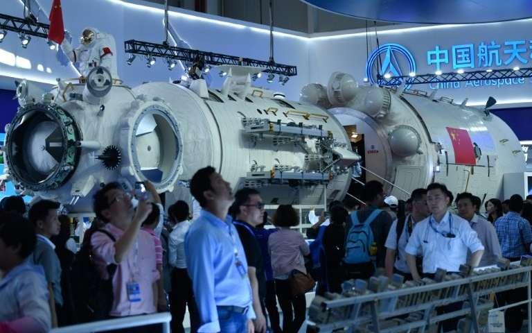 В КНР показали модель станции, которая может сменить МКС