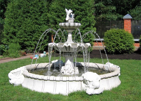 Эстетическое обустройство сада: как подобрать фонтан