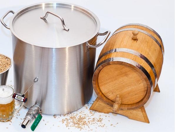 Оборудование, необходимое для домашнего пивоварения