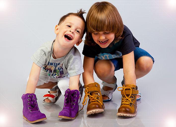 Удобная обувь – счастливый ребенок