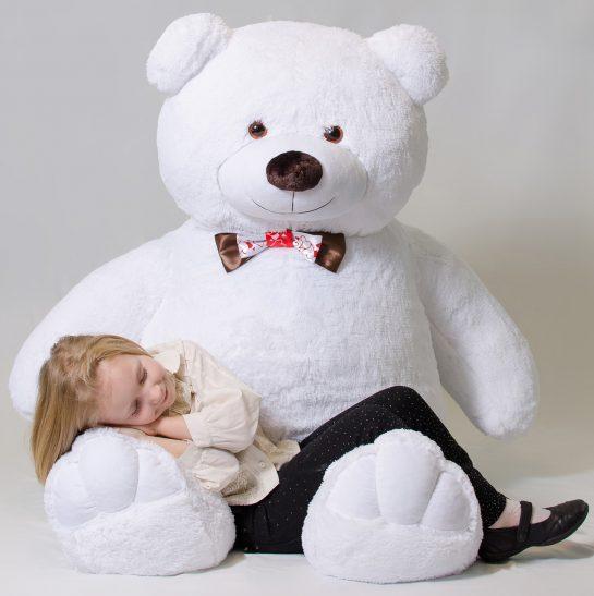 Где купить мягкую игрушку белого медведя недорого