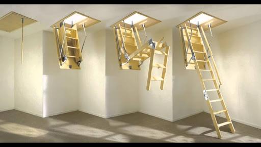 Чердачные лестницы от украинского производителя