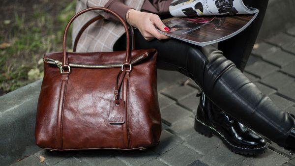 Большой выбор женских кожаных сумок