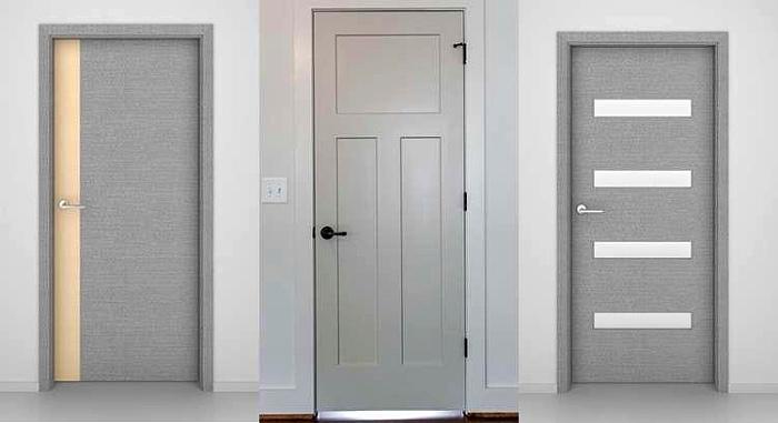 Идеальные серые межкомнатные двери для вашего интерьера